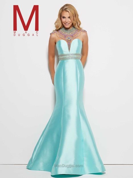 62341M (aqua) gown from the 2016 Mac Duggal Prom collection, as seen on Bride.Canada