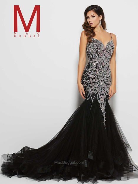 82517M (black) gown from the 2016 Mac Duggal Prom collection, as seen on Bride.Canada