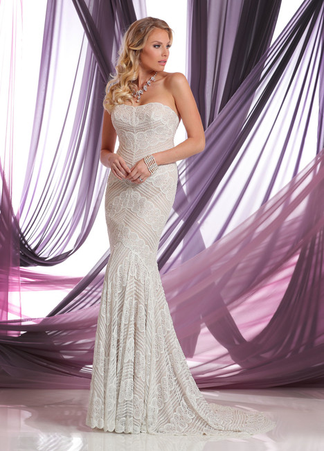 50409 gown from the 2016 DaVinci collection, as seen on Bride.Canada