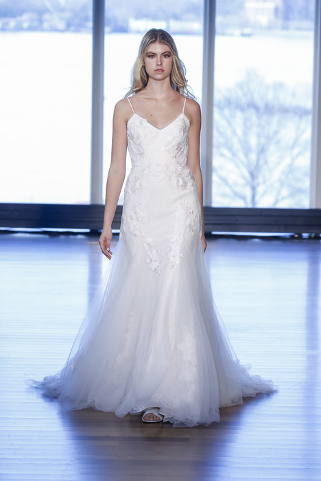 Mercy gown from the 2017 Alyne collection, as seen on Bride.Canada