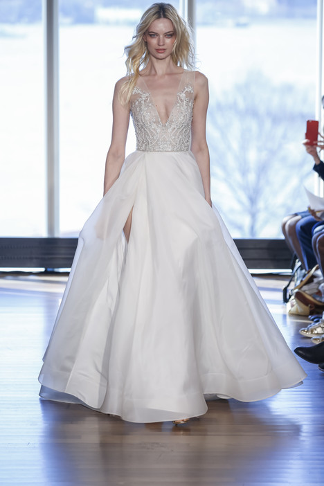 Margaux gown from the 2017 Rivini collection, as seen on Bride.Canada