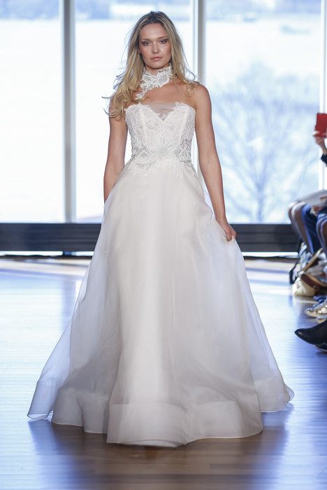 Willa gown from the 2017 Rivini collection, as seen on Bride.Canada