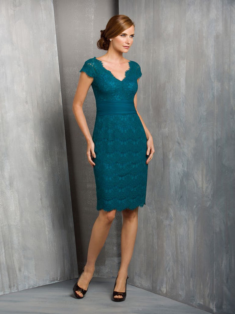 M170052 (teal) gown from the 2015 Jasmine Black Label collection, as seen on Bride.Canada