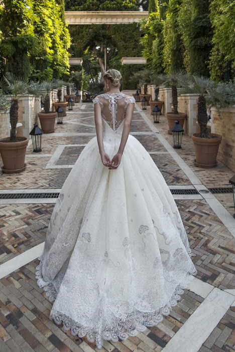 ARAB17617 (back) gown from the 2017 Alessandra Rinaudo collection, as seen on Bride.Canada