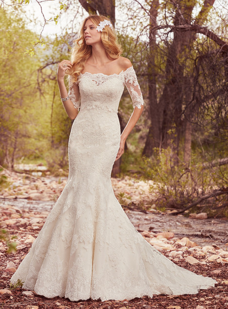 Betsy (+ jacket) gown from the 2017 Maggie Sottero collection, as seen on Bride.Canada
