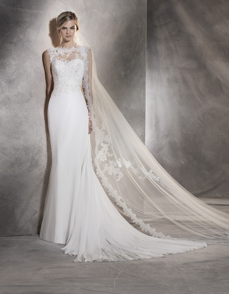 Agora gown from the 2017 Pronovias collection, as seen on Bride.Canada