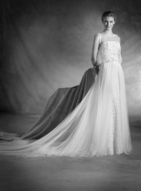 Nuk (2) gown from the 2017 Pronovias Atelier collection, as seen on Bride.Canada
