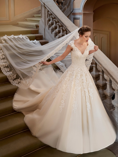 gown from the 2017 Eddy K collection, as seen on Bride.Canada