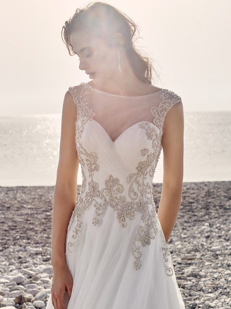 Grenada gown from the 2017 Eddy K Dreams collection, as seen on Bride.Canada