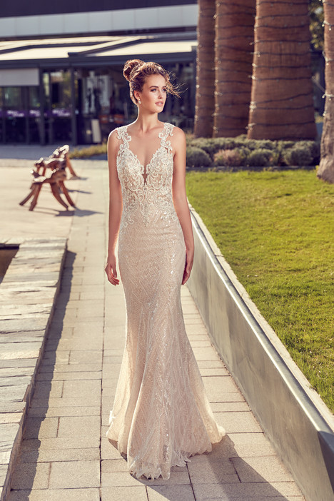 gown from the 2017 Eddy K Sky collection, as seen on Bride.Canada