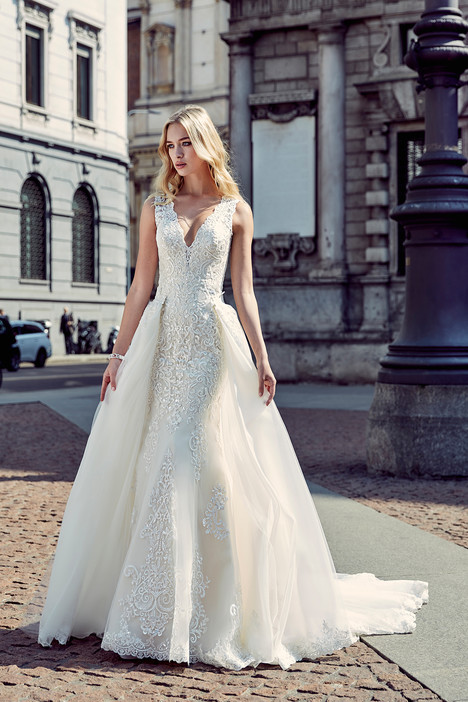 gown from the 2017 Eddy K Milano collection, as seen on Bride.Canada