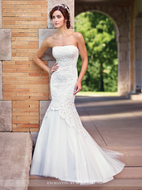 gown from the 2017 Enchanting by Mon Cheri collection, as seen on Bride.Canada