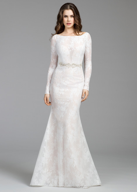 2653 gown from the 2016 Tara Keely collection, as seen on Bride.Canada