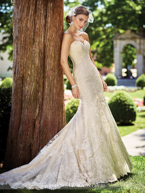 Gregoria (117272) gown from the 2017 Martin Thornburg for Mon Cheri collection, as seen on Bride.Canada