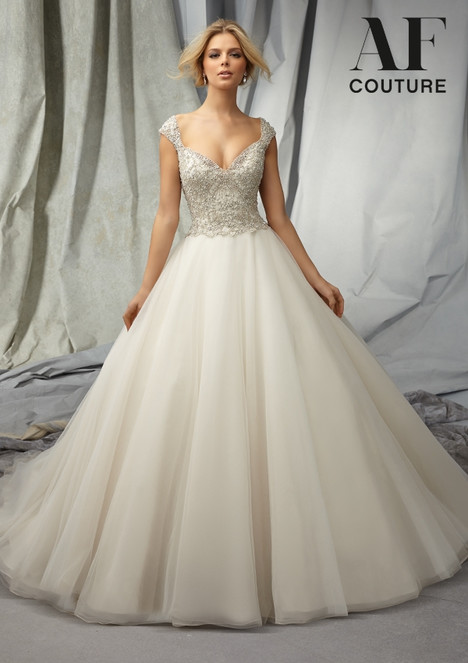 1310 gown from the 2015 Morilee AF Couture collection, as seen on Bride.Canada
