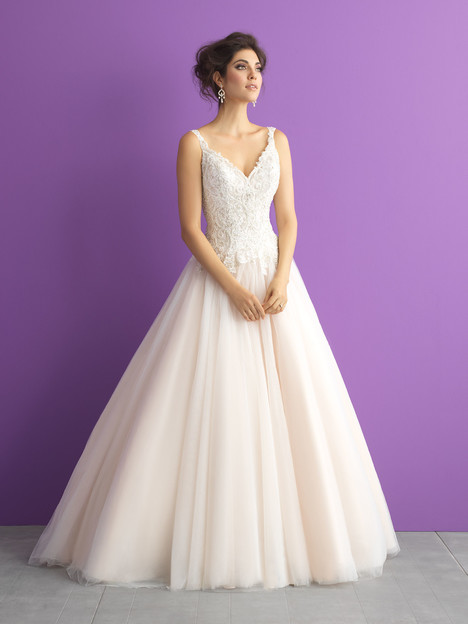 gown from the 2017 Allure Romance collection, as seen on Bride.Canada