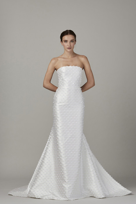 The Tide gown from the 2017 Lela Rose collection, as seen on Bride.Canada