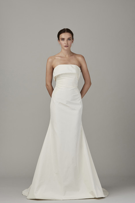 The Oyster Bay gown from the 2017 Lela Rose collection, as seen on Bride.Canada
