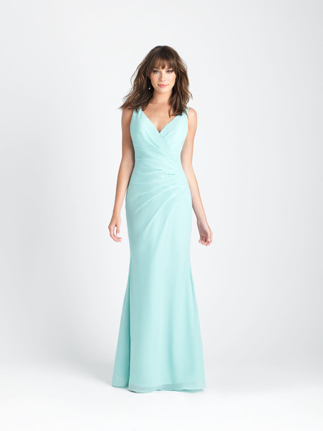 1501 gown from the 2017 Allure Bridesmaids collection, as seen on Bride.Canada