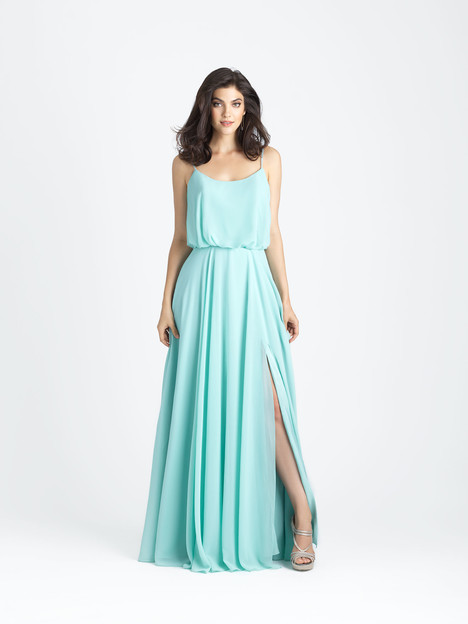 1502 gown from the 2017 Allure Bridesmaids collection, as seen on Bride.Canada