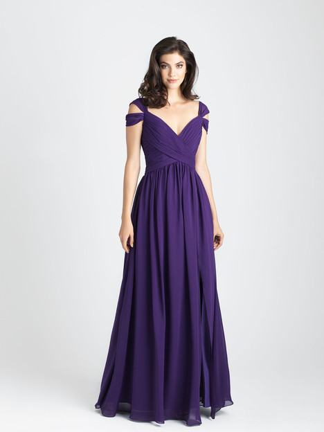 1504 gown from the 2017 Allure Bridesmaids collection, as seen on Bride.Canada