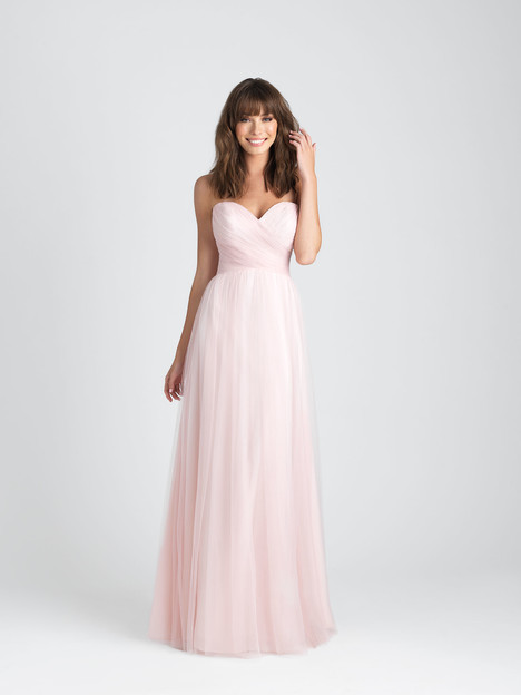 1505 gown from the 2017 Allure Bridesmaids collection, as seen on Bride.Canada
