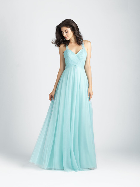 1506 gown from the 2017 Allure Bridesmaids collection, as seen on Bride.Canada