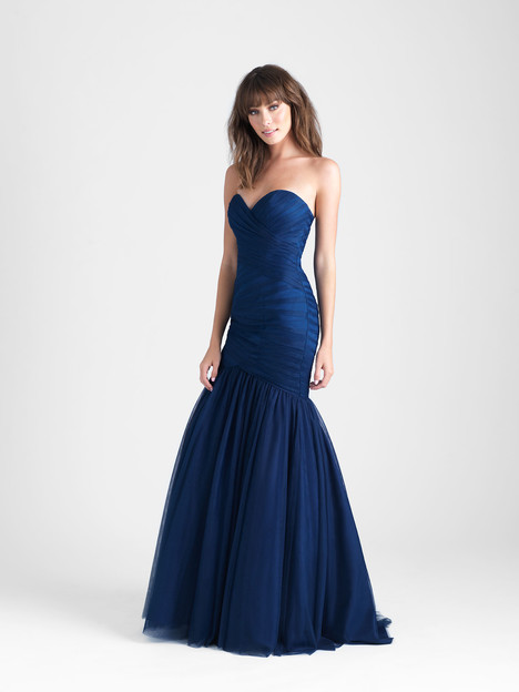 1507 gown from the 2017 Allure Bridesmaids collection, as seen on Bride.Canada