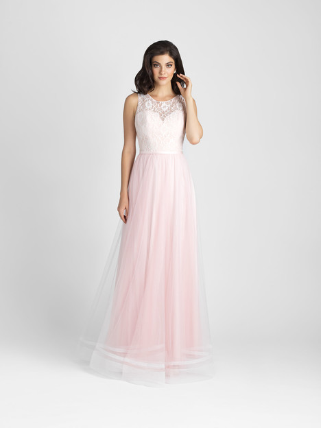 1509 gown from the 2017 Allure Bridesmaids collection, as seen on Bride.Canada