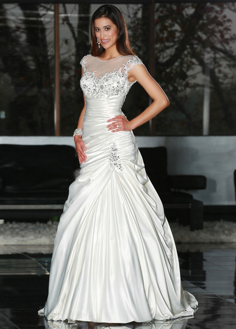 50216 gown from the 2013 DaVinci collection, as seen on Bride.Canada
