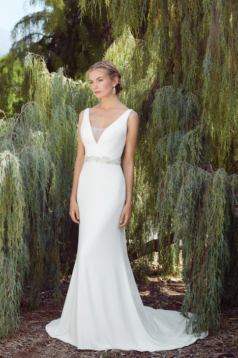 Delphinium (2268) gown from the 2017 Casablanca Bridal collection, as seen on Bride.Canada