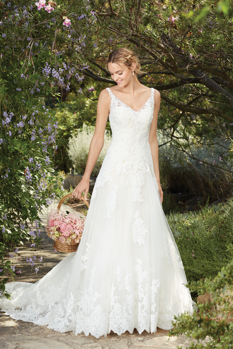 Plumeria (2269) gown from the 2017 Casablanca Bridal collection, as seen on Bride.Canada
