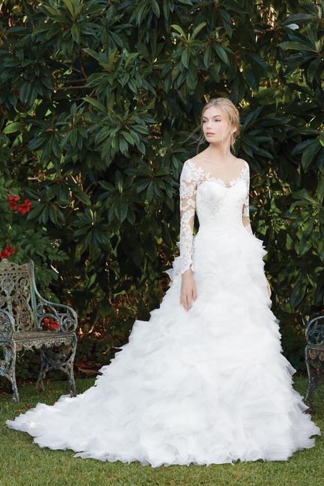 Fuschia (2279) gown from the 2017 Casablanca Bridal collection, as seen on Bride.Canada