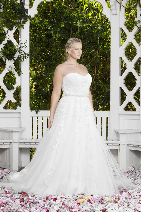 Mayflower (2271) (2) gown from the 2017 Casablanca Bridal collection, as seen on Bride.Canada