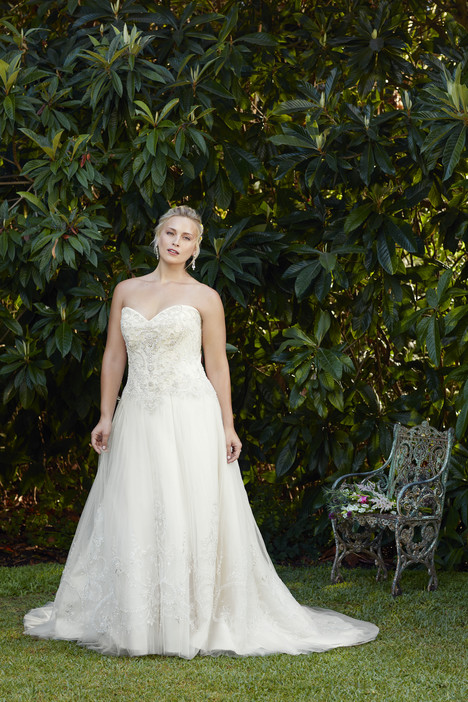 Ambrosia (2276) (2) gown from the 2017 Casablanca Bridal collection, as seen on Bride.Canada
