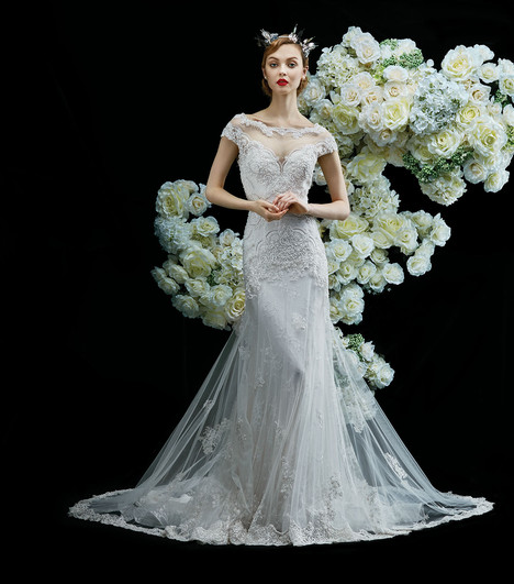 Jasmine gown from the 2017 Annasul Y collection, as seen on Bride.Canada