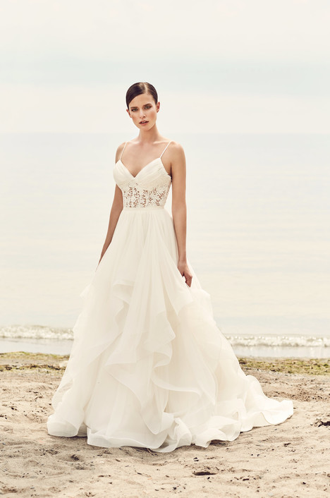 gown from the 2017 Mikaella collection, as seen on Bride.Canada