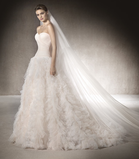 Marlan gown from the 2017 St. Patrick collection, as seen on Bride.Canada