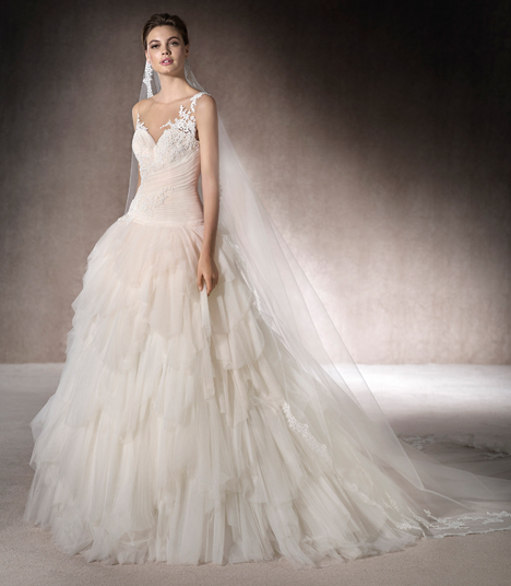 Megara gown from the 2017 St. Patrick collection, as seen on Bride.Canada