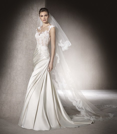 Mercy gown from the 2017 St. Patrick collection, as seen on Bride.Canada