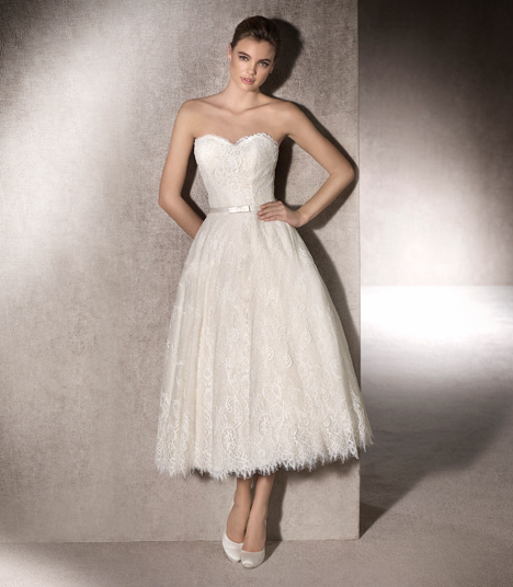 Milenia gown from the 2017 St. Patrick collection, as seen on Bride.Canada