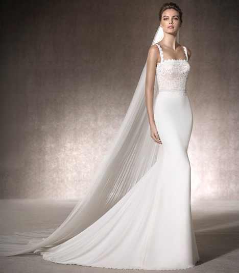 Musa gown from the 2017 St. Patrick collection, as seen on Bride.Canada
