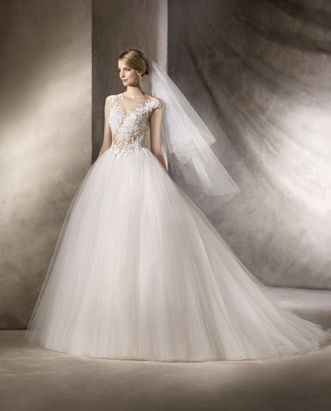 Halar gown from the 2017 La Sposa collection, as seen on Bride.Canada