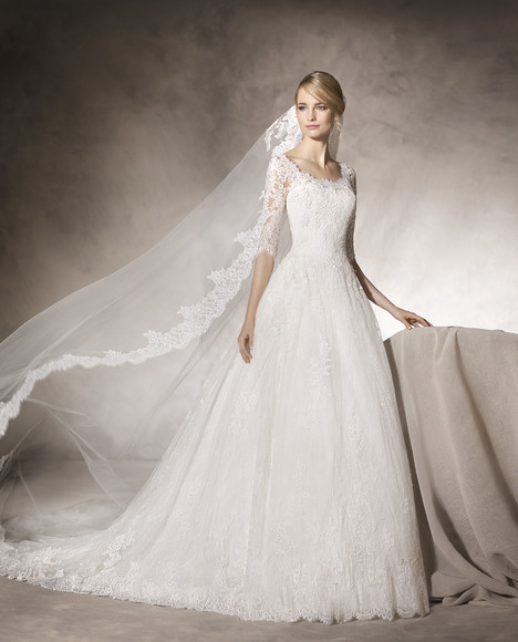 Honduras gown from the 2017 La Sposa collection, as seen on Bride.Canada