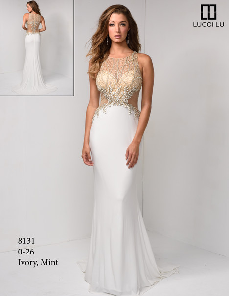 8131 gown from the 2017 Lucci Lu collection, as seen on Bride.Canada