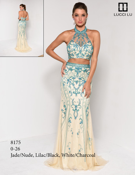 8175 gown from the 2017 Lucci Lu collection, as seen on Bride.Canada