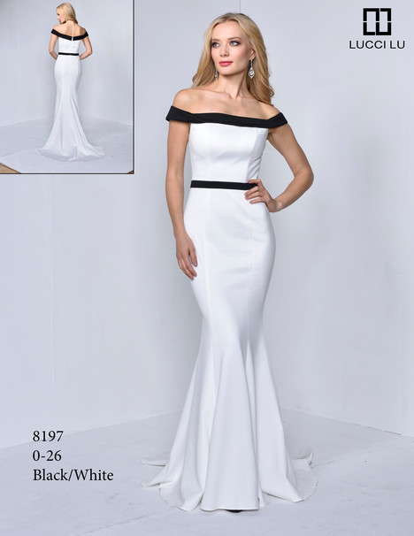 8197 gown from the 2017 Lucci Lu collection, as seen on Bride.Canada