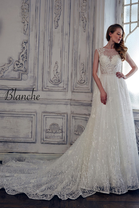 17124 gown from the 2017 Calla Blanche collection, as seen on Bride ...