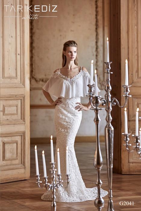 Verona (G2041) gown from the 2017 Tarik Ediz: White collection, as seen on Bride.Canada