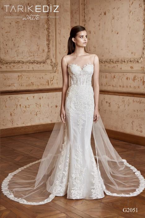 Lyonn (G2051) gown from the 2017 Tarik Ediz: White collection, as seen on Bride.Canada